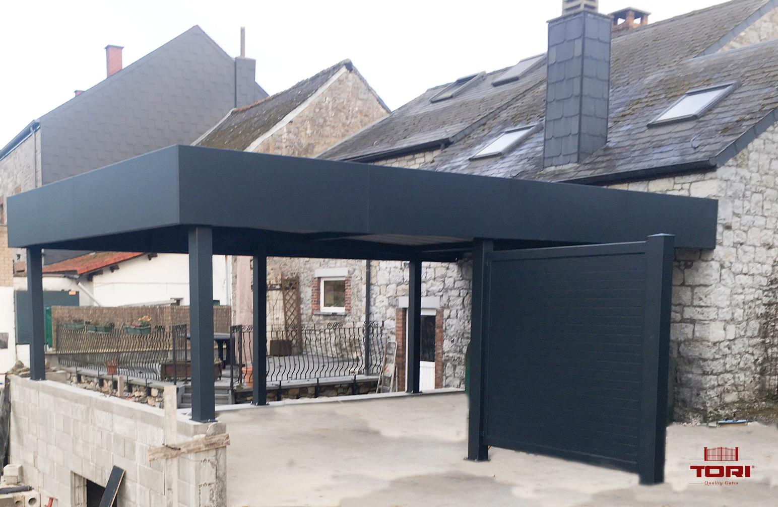 carport aluminium belgique fabulous carport alu with car port alu with carport aluminium. Black Bedroom Furniture Sets. Home Design Ideas