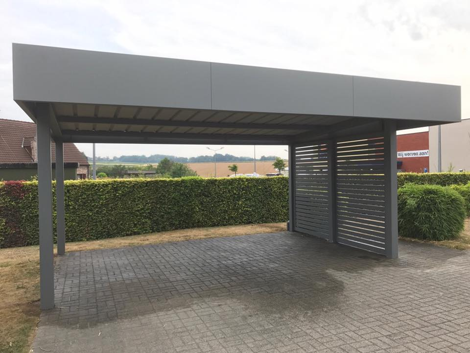 Carport Aluminium Horizon Tori Portails