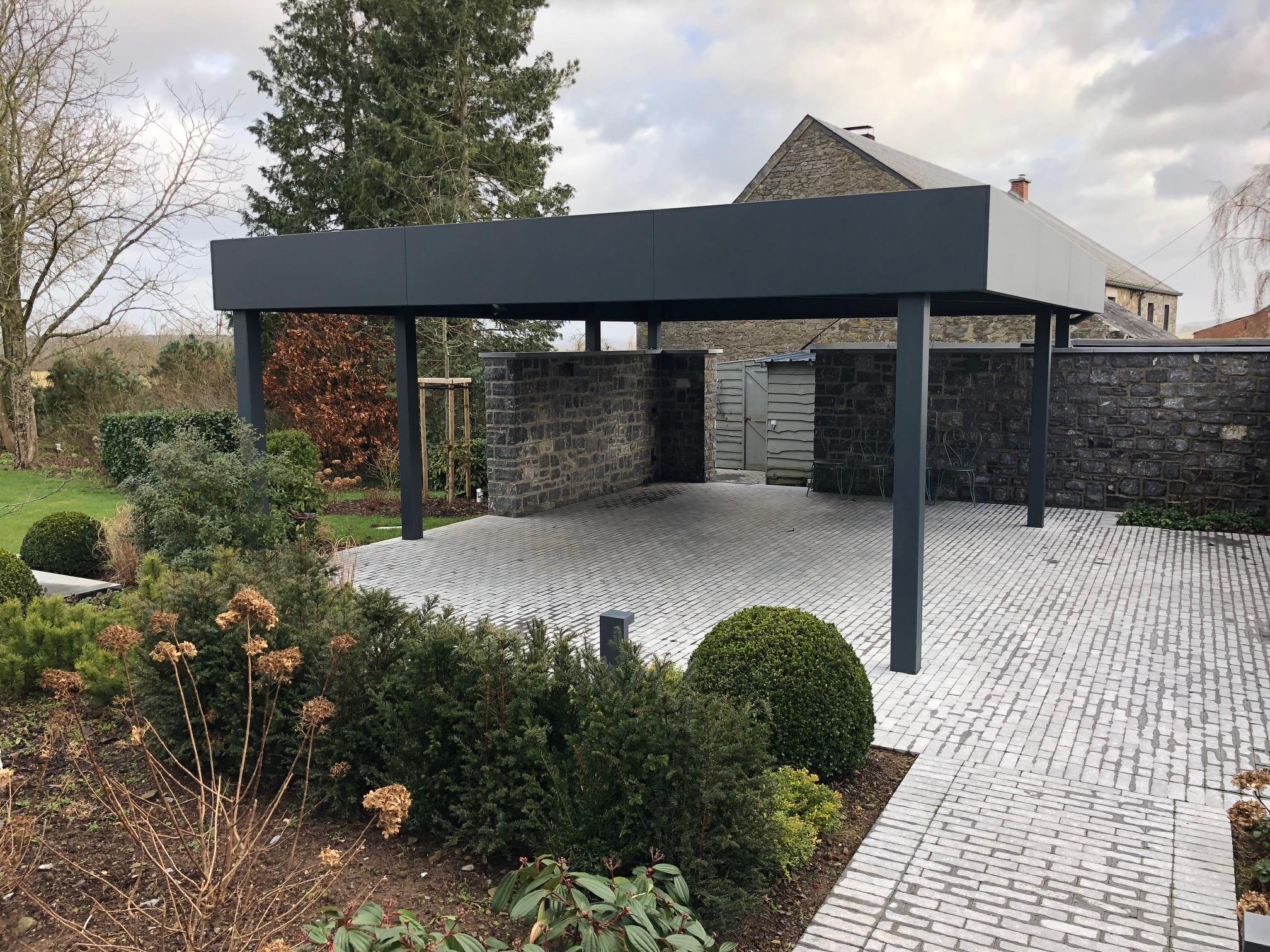 carport alu belgique stunning aluminum double carport with carport alu belgique best perfect. Black Bedroom Furniture Sets. Home Design Ideas