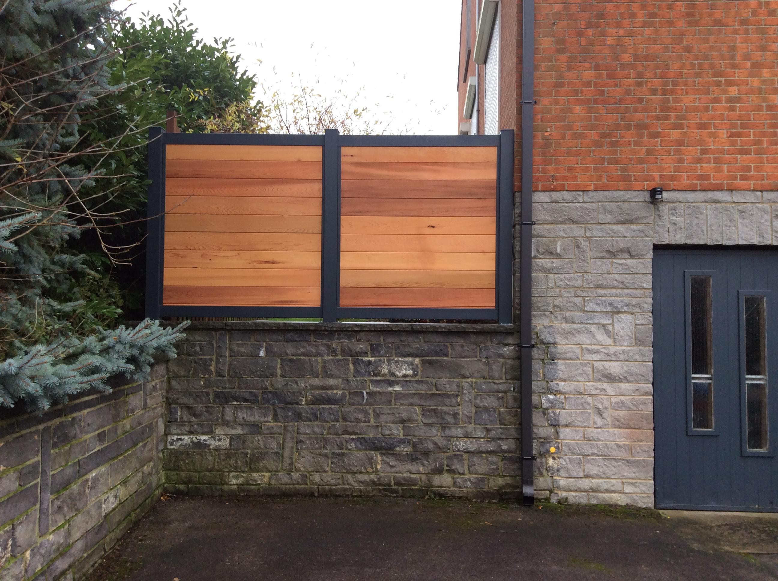 palissade bois tori portails. Black Bedroom Furniture Sets. Home Design Ideas